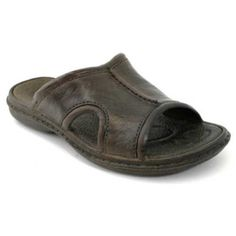 8cd962b92b1998 Pali Hawaii Men s PH 186 Slide Sandal-Brown-Size 8 Lockers