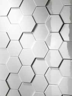 Nemo Tile has unveiled its new Imprint collection, featuring varying three-dimensional tile depths 10 or 13 millimeters) to create intricate patterns suitable for residential, commercial and hospitality settings. Master Bathroom Shower, Bathroom Ideas, Wall Tiles Design, Accent Pieces, Three Dimensional, Porcelain, House Design, Texture, Collection