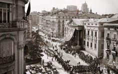 1936: Proclamación de Manuel Azaña como presidente de la república. Congreso de los Diputados