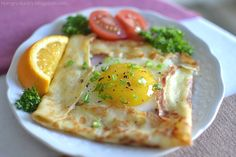 breakfast crepe recipes   Found on hungryducky.blogspot.com