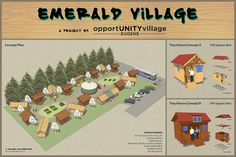 Opportunity Village Eugene - excellent idea for affordable housing under a non profit and community umbrella.
