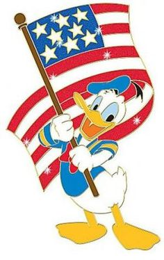 Donald Duck with American flag Veteran's Day series pin : From the Walt Disney, Disney Duck, Disney Pins, Disney Mickey, Disney Art, Disney Best Friends, Mickey Mouse And Friends, Donald Duck Characters, Disney Characters