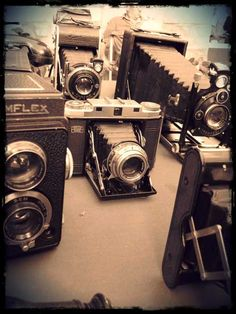 I have a thing for old cameras.