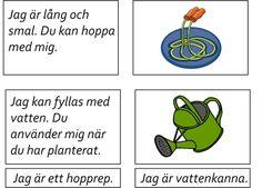 Swedish Language, Blogg, Montessori, Activities For Kids, Preschool, Education, Children Activities, Kid Garden, Kid Activities