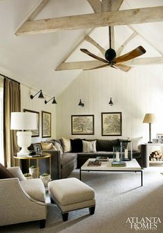 86 best ceiling fan images on pinterest ceilings beach cottages sophisticated mountain retreat by designer amy morris interior design files aloadofball Image collections