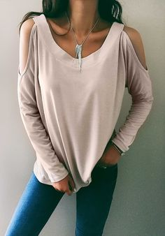 Only $24.99! Chicnico Stylish Off The Shoulder Jewel Solid Color Knit Top fall fashion trend outfit hot sale cheap online shop
