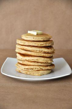 Very Vanilla Vegan Pancakes