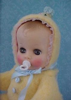 "Pacifier Binky for 8"" Ginnette, Jimmy, Betsy Wetsy, Babykin and other 8"" dolls"