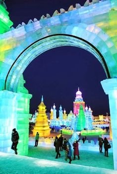 More Harbin Ice festival @ China