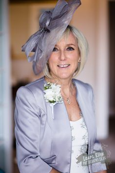 Mother Of The Bride Las Wedding Corsage White Flower Surrey Flowers