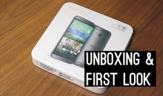 Less talk... more cool... gadget cool in this Unboxing & First Look Video for the #HTCOne #M8