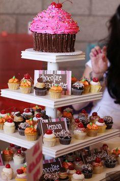 Giant cupcake cake...awesome :)