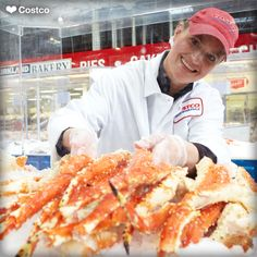 Dungeness Crab at the Costco Seafood RoadShow. | All ...
