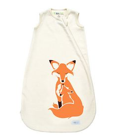 I need this bad!!!!  Natural Fox Sleeping Sack - Infant #zulilyfinds