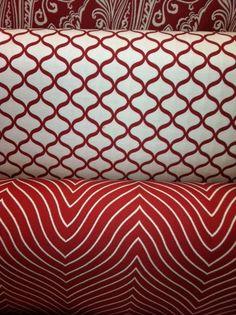 •Red & White•
