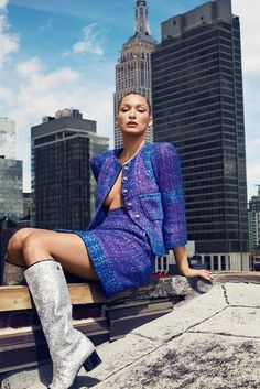 Bella Hadid is so statuesque in this Harper's Bazaar editorial by Alexei Hay – just gorgeous!