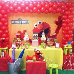 Elmo 1st Birthday Party