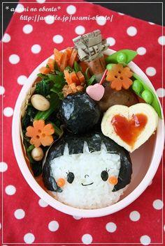 ■お人形キャラ弁|asamiオフィシャルブログ「asamiのおうち。簡単かわいいキャラ弁の作り方」Powered by Ameba-3ページ目
