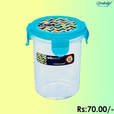 BIO SAFE ROUND CONTAINER 480 ML #BioSafe #EcoProducts #ContainerSet #online #grahakji #ContainerSet #shopping #lunchbox