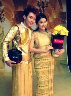 Myanmar traditional dress
