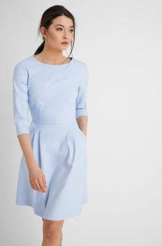Rozkloszowana sukienka z kieszeniami | ORSAY