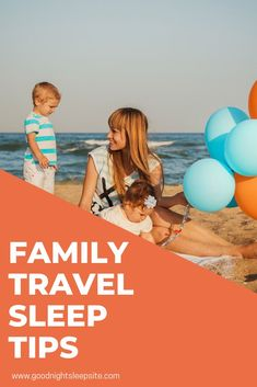 If you are worried about time zones, naps, sleeping in a new location and other common sleep concerns when travelling with kids, we've got you covered.   #familytravel #sleeptips #vacation #vacationplanning