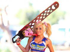 Jessica Nigri Cosplay Lollypop Chainsaw