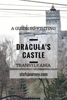 Visiting Bran's Castle aka Dracula's Castle turned out to be really interesting! Read the full itinerary to the mysterious Castle of Transylvania!