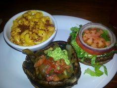 Papa's Portabello burger - Veggie Grill, Vegetarian style