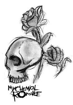 My Chemical Romance Skull Logo by MySicknessRomance on DeviantArt