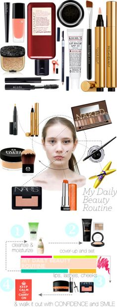 Daily beauty routines explained!
