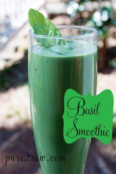 Basil smoothie