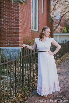 20% OFF - Mary - Vintage Wedding Dress Upcyled 1940's Style Alternative Lace Ombre. $200.00, via Etsy.  are you into lace?