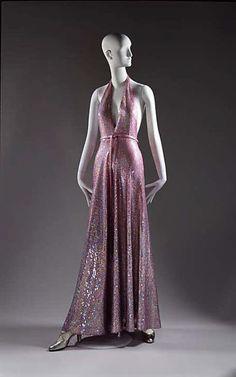Vintage Halston dress - 1974