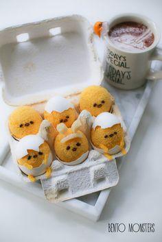 Gudetama Easter Chiffon Cake