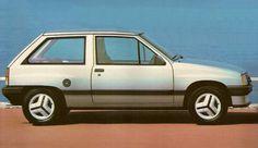 1983 Vauxhall Nova.
