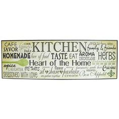 Various Kitchen Words & Sayings Sign | Shop Hobby Lobby