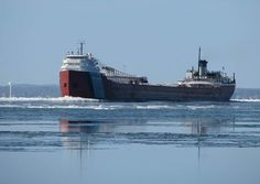Great Lakes freighters... can be seen quite often in all of the Great Lakes!