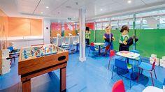 MSC Meraviglia Doremi Lab. Image MSC Cruises #msccruises #meraviglia Lab Image, Msc Cruises, Italian Style, Basketball Court