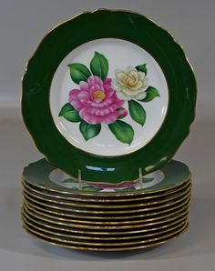 12 Spode Copeland China, dinner plates,
