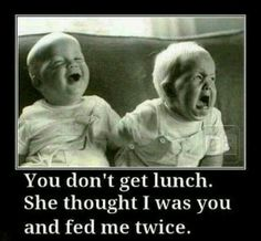 I could see this happening to Anna and Abby when they were little