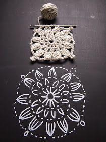 Pylväsrivistön korvaavat   pienet terälehdet (2.kerros)   tekevät kukkaympyrästä...   ilmavamman - ja kauniimman?!           1.ker... Crochet Diagram, Crochet Motif, Crochet Designs, Crochet Doilies, Crochet Flowers, Crochet Stitches, Knit Crochet, Crochet Patterns, Crochet Stars