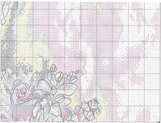Схема вышивки Woman With Bouquet (Dimensions) 4 из 8