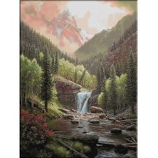 1852. Muntele Rocky 27 culori 448-600cm 205ron
