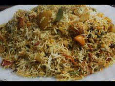 yummiest vegetable biryani for all vegg lovers. Pilau Rice, Biryani, Fried Rice, Carrots, Potatoes, Cooking Recipes, Mint, Vegetables, Nasi Goreng