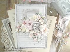 Wedding Anniversary Cards, Wedding Cards, Mixed Media Cards, Shabby Chic Cards, Card Tags, Cool Cards, All Paper, Creative Cards, Homemade Cards
