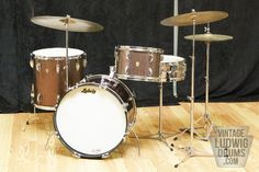 Vintage Ludwig Drum Kits