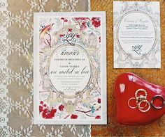 Chinoiserie Wedding Invitations