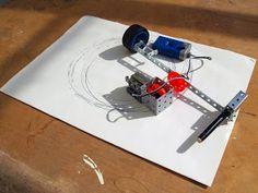 HELEN BROWNE: Meccano drawing machines.