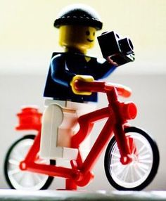 Lego Bike! this is cool!